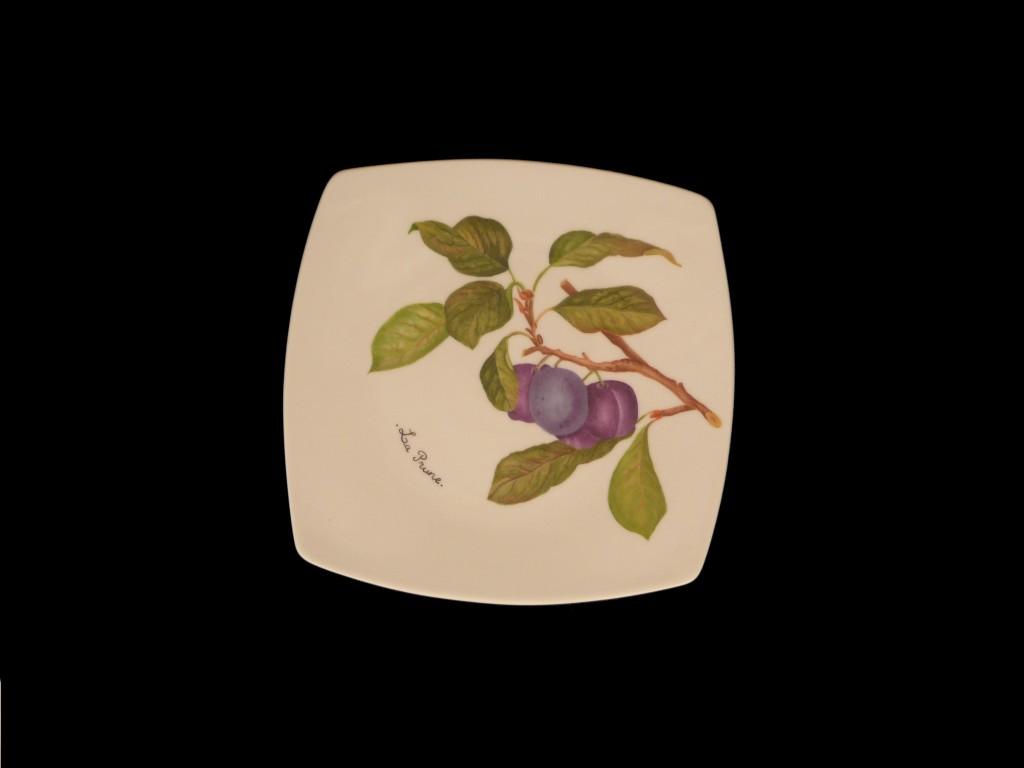 Assiette prune