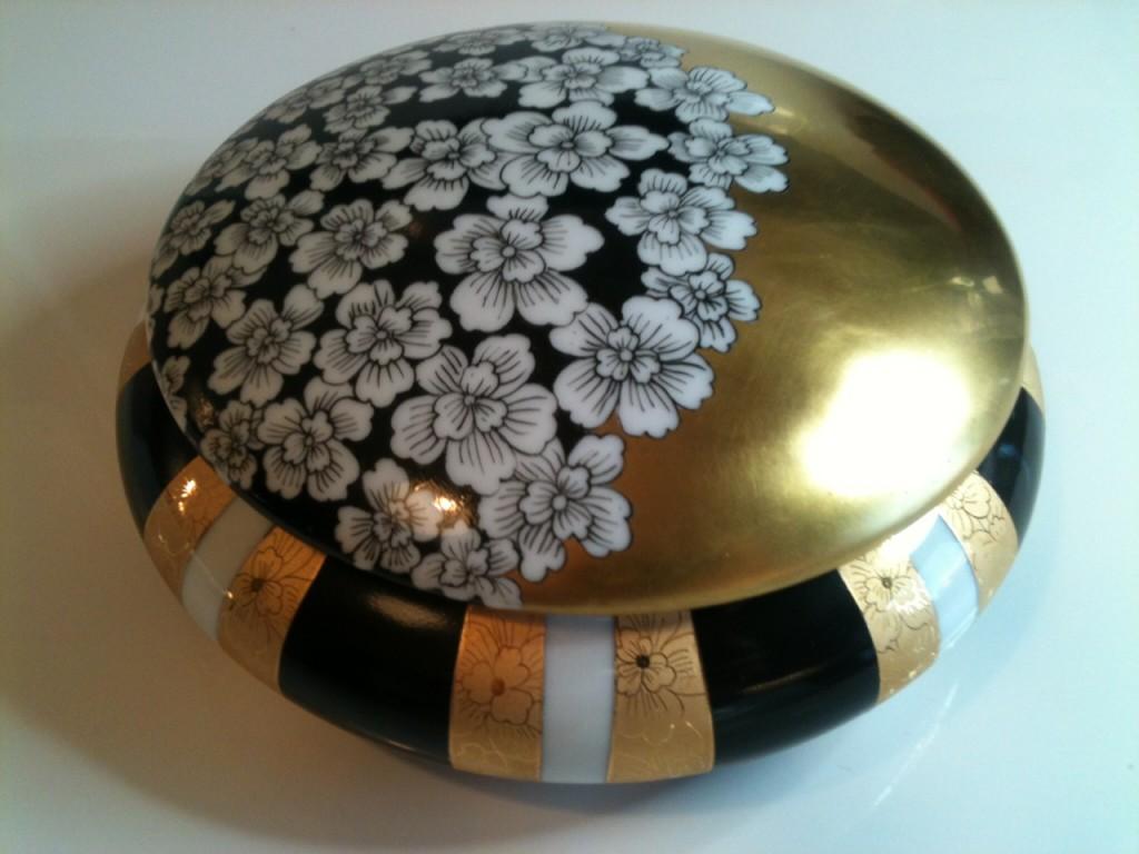 Bonbonnière ou boîte a bijoux