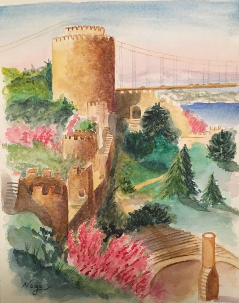 La forteresse d'Istanbul
