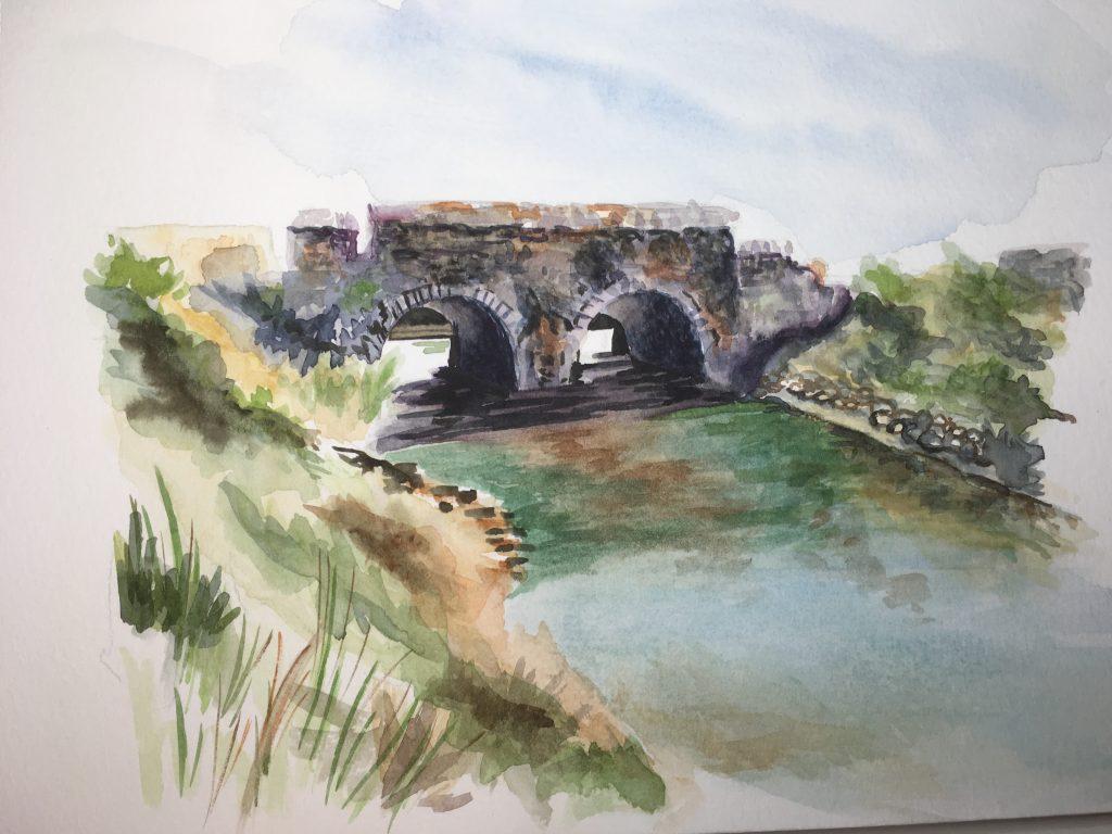 Un pont dans le sud de la France