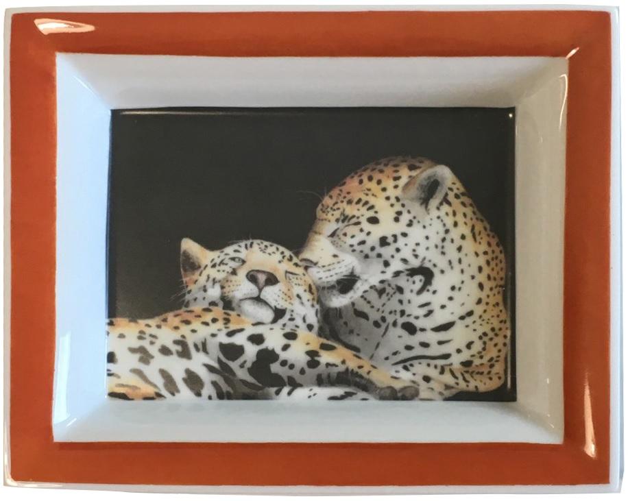 Vide-poches : léopards